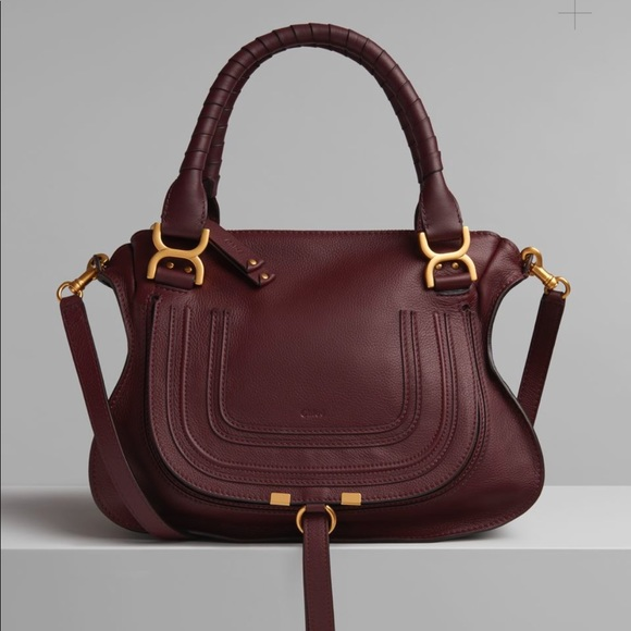 da4cce8c CHLOÉ Marcie Handbag in Small Grain Calfskin (M)